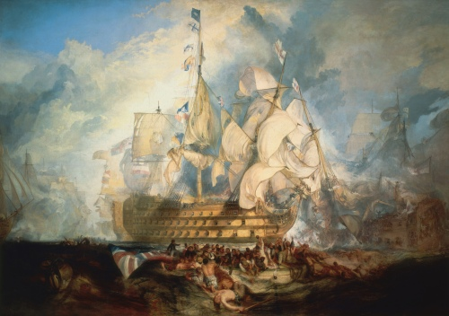Turner,_The_Battle_of_Trafalgar_(1822).jpg