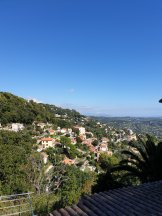 View above Grasse